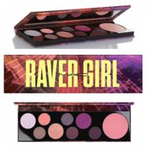 MAC Cosmetics RAVER GIRL Eye Palette 8 Shades/1 Highlighter NIB Genuine - $16.83