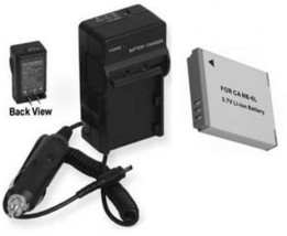 Battery + Charger for Canon PC1355 SD770 IS SD1300 SD3500 IS D10 SD1200 IS - $20.69