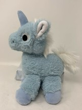 "Manhattan Toy Floppies Blue Baby Unicorn 7"" Plush Soft Stuffed Animal Se... - $9.50"