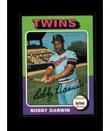 1975 TOPPS #346 BOBBY DARWIN VGEX TWINS  - $0.99