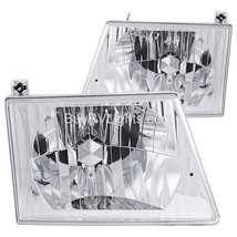 Holiday Rambler Imperial 1995 1996 1997 Diamond Headlights Head Lamps Pair Rv - $142.56