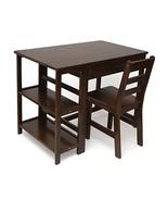 Lipper International 584WN Child's Work Station Desk and Chair, Walnut F... - $265.47