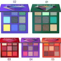 9 Colors shimmer glitter eye shadow powder palette matte Waterproof - $15.49