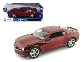 2010 Chevrolet Camaro SS RS Burgundy 1/18 Diecast Model Car by Maisto - $65.99