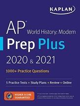 AP World History Modern Prep Plus 2020 & 2021: 5 Practice Tests + Study Plans +