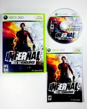 Infernal: Hell's Vengeance (Microsoft Xbox 360, 2009) Complete with Manual - CIB - $9.45