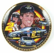 Rusty Wallace Plate #2 The Drivers of Victory Lane NASCAR Collection Ham... - $24.00