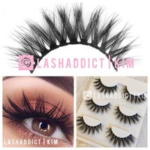 3 Pairs MINK Lashes WSP FULL 3D Eyelashes MAKEUP FUR - USA seller NEW - $8.95