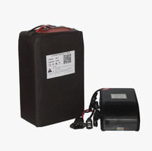 48V 20AH LiFePO4 Battery Pack Power for 1000w EBike Kit Motor with Charg... - $430.10