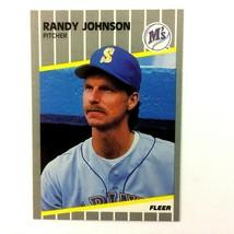 Randy Johnson 1989 Fleer Update Rookie Card #U-59 MLB HOF Seattle Mariners - $2.92
