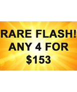 MON-TUES FLASH PICK ANY 4 FOR $153 BEST OFFERS MAGICK  - $153.00