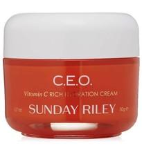 Sunday Riley CEO C.E.O. Vitamin C Rich Hydration Cream Full Sz 1.7 oz Fr... - $48.39