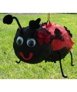 Super Cute Flowering LadyBug Pinata - Birthday, Shower, Summer, Party, E... - $50.00