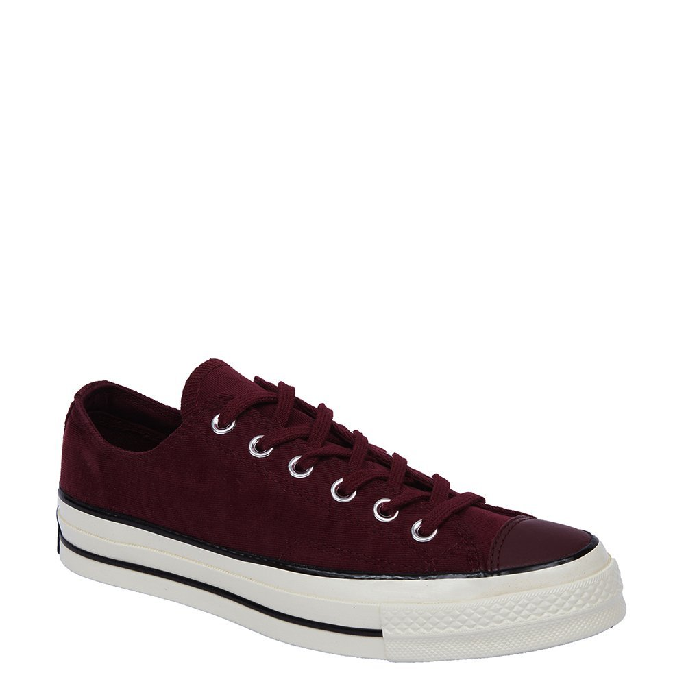 Converse Chuck Tayler All Star 70 OX Sneakers 153986C Cranberry, 7 (D) Mens / 9