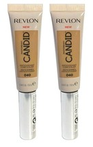 Lot of 2, Revlon PhotoReady Candid AntiOxidant Concealer 040 Medium Moye... - $9.98
