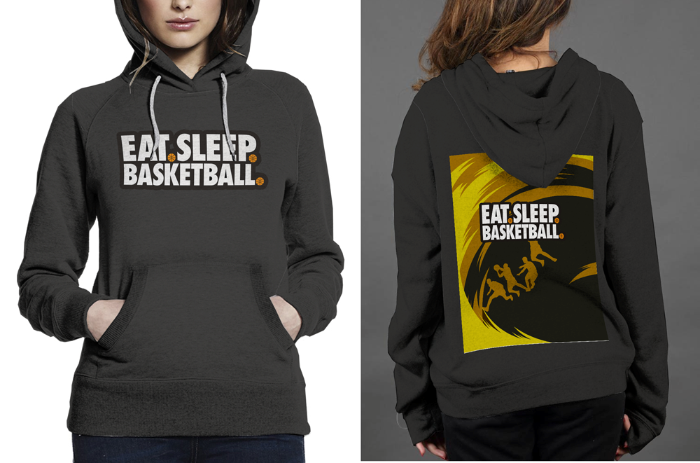 NEW !! Eat Seep Basketball Classic Black women's Hoodie image 1