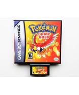Pokemon Shiny Gold Game / Case - Gameboy Advance (GBA) USA Seller - $13.99+