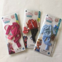 Disney Comfy Squad Princess Doll Outfits Cinderella Mulan Aurora - $26.72