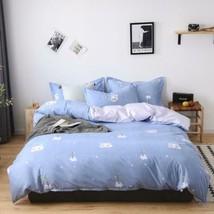3D White Cloud Small Flower KEP8363 Bed Pillowcases Quilt Duvet Cover Kay - $66.96+