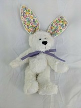 "Ganz White Bear With Rabbit Ears 9"" Cottage Collectibles Jelly Beans 1998  - $29.95"