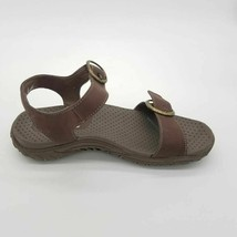 Skechers Womens Reggae Always Strapped Ankle Strap Sandals Brown Buckle ... - $42.56