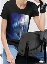 Popular Jane D Arc Blessing the sword T-Shirt Women  Black - $14.99+