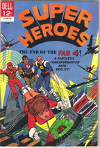Super Heroes Comic Book #4, Dell Comics 1967 VERY FINE- - $14.98