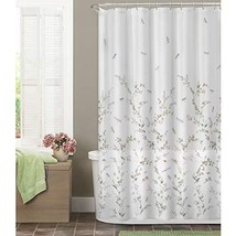 MAYTEX Dragonfly Garden Semi Sheer Fabric Shower Curtain - $23.34