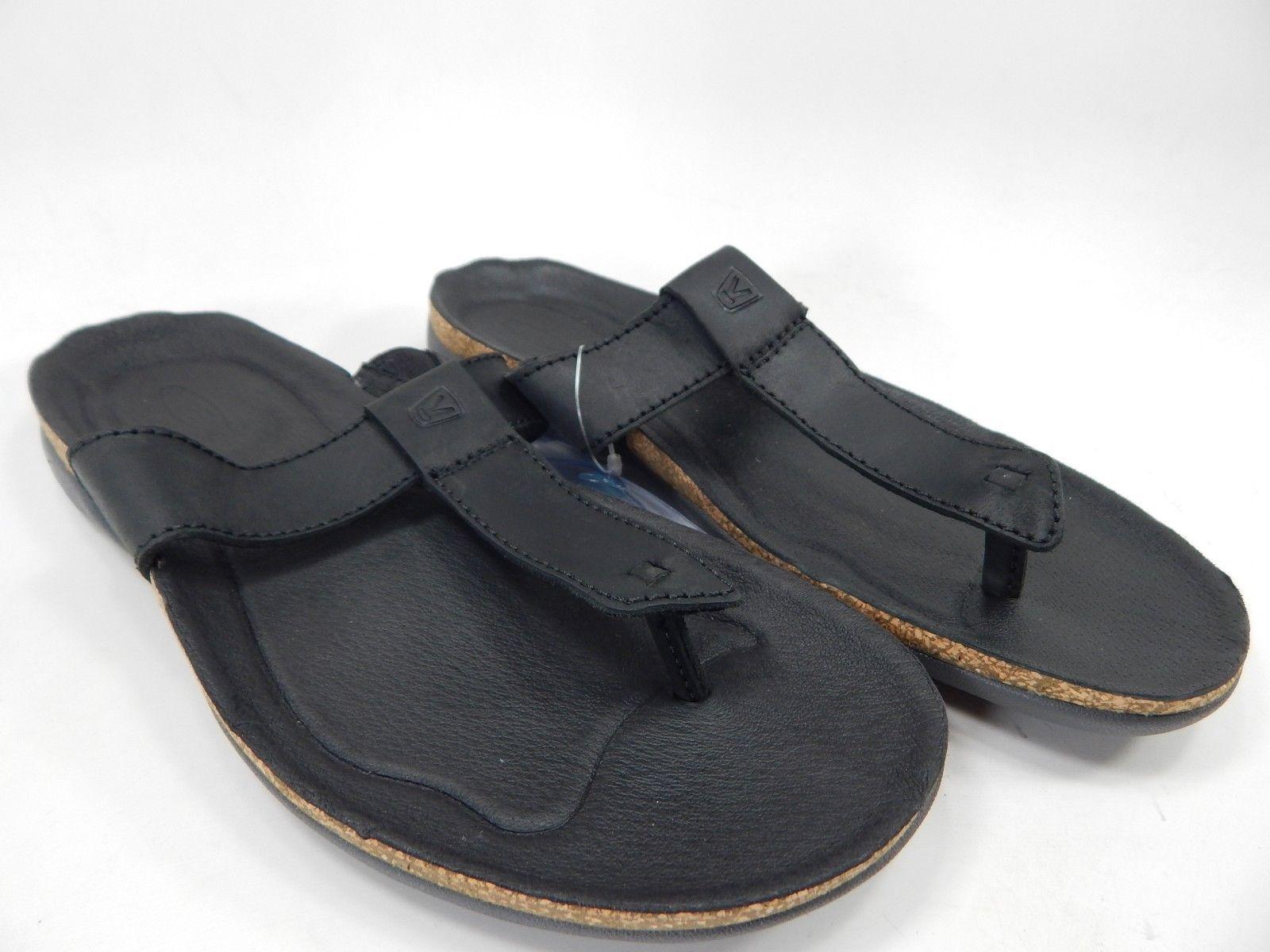Keen Dauntless Flip Flop Women's Sport Sandals Size 7 M (B) EU 37.5 Black / Gray