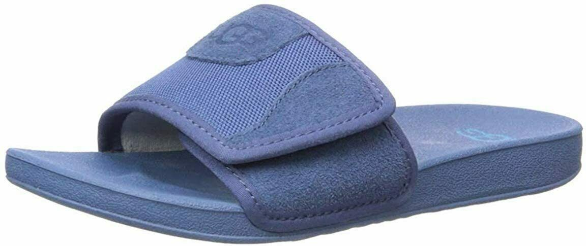 Primary image for UGG Sandal Shoes Beach Slide Blue Size BK4 or W6.5