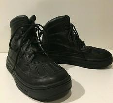 Nike ACG Woodside 2 Boys Winter Boots Black Waterproof High Youth Size 1... - $38.38