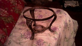SILVER PLATED PLANTER OR HOT DISH HOLDER - $28.91