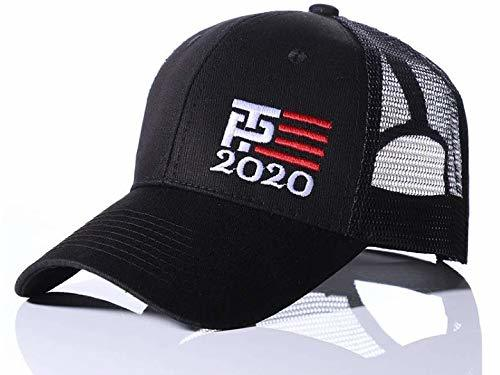 Trump Pence 2020 Mesh Hat - Cap - Adjustable Black/White/Red
