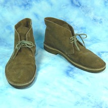 Clarks Mens 13 M Originals Desert Chukka Boots Brown Suede Leather Crepe Sole - $49.45