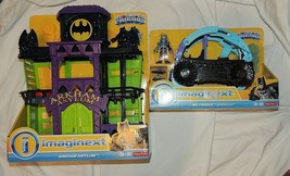 New Fisher Price Imaginext Arkham Asylum Batman Jail Mr Freeze Snowcat 2... - $36.62