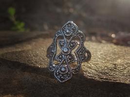 Haunted ring Knights of Templar Magickal spell Volkh Djinn Ring Moonstar... - $100.00