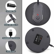 USB Desktop Microphone with Mute Button image 3
