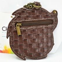 Chala Handbags Faux Leather Whimsical Hedgehog Coin Purse Key Chain Keychain image 2