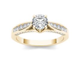 IGI Certified 14k Yellow Gold 1.00Ct Diamond Classic Solitaire Engagemen... - $1,669.99