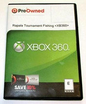 Rapala Trophies Pro Tournament Fishing Microsoft Xbox 360 2006 In Game S... - $7.84