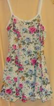 Peek a Boo Floral Lace stretchy Sleep Dress-S/M - $10.00