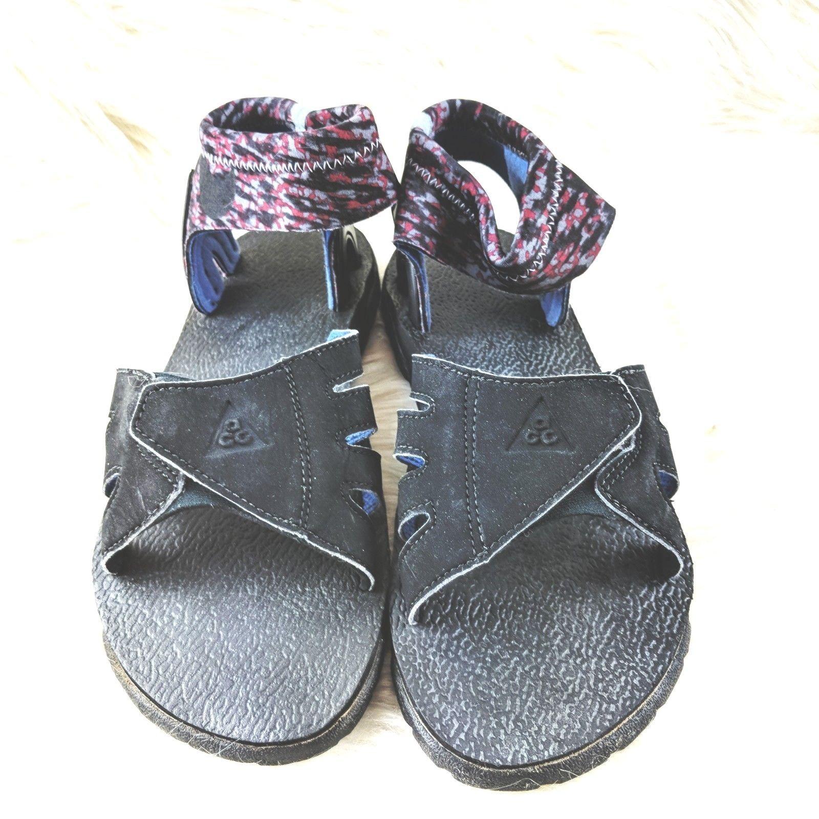 7ba1bf495c7fe ... hot nike acg huarache sandal neoprene ankle support mens size 9 black  vintage ge4 0f228 dbeec
