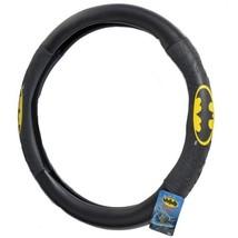BDK WBSW-1301 Batman Steering Wheel Cover for Car & SUV - Black, Original Design