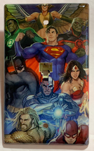 DC Superhero Super heroes Light Switch Power Outlet Wall Cover Plate Home decor image 3