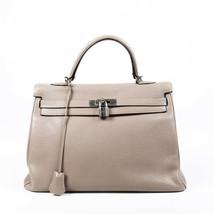 Hermes Kelly Retourne 35 Clemence Satchel Bag - $9,010.00