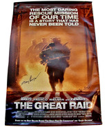 2005 THE GREAT RAID Movie POSTER 27x40 SIGNED Director JOHN DAHL & CESAR... - $39.99