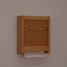Wooden Mallet Paper Towel Dispenser in Light Oak Breakroom Supplies Acce... - $65.30