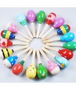 Mini Wooden Ball Children Toys Percussion - $21.98