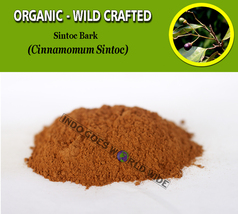 POWDER Sintoc Bark Cinnamomum Sintoc Organic Wild Crafted Fresh Natural ... - $7.85+