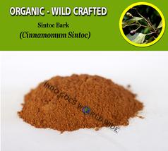 POWDER Sintoc Bark Cinnamomum Sintoc Organic Wild Crafted Fresh Natural Herbs - $7.85+
